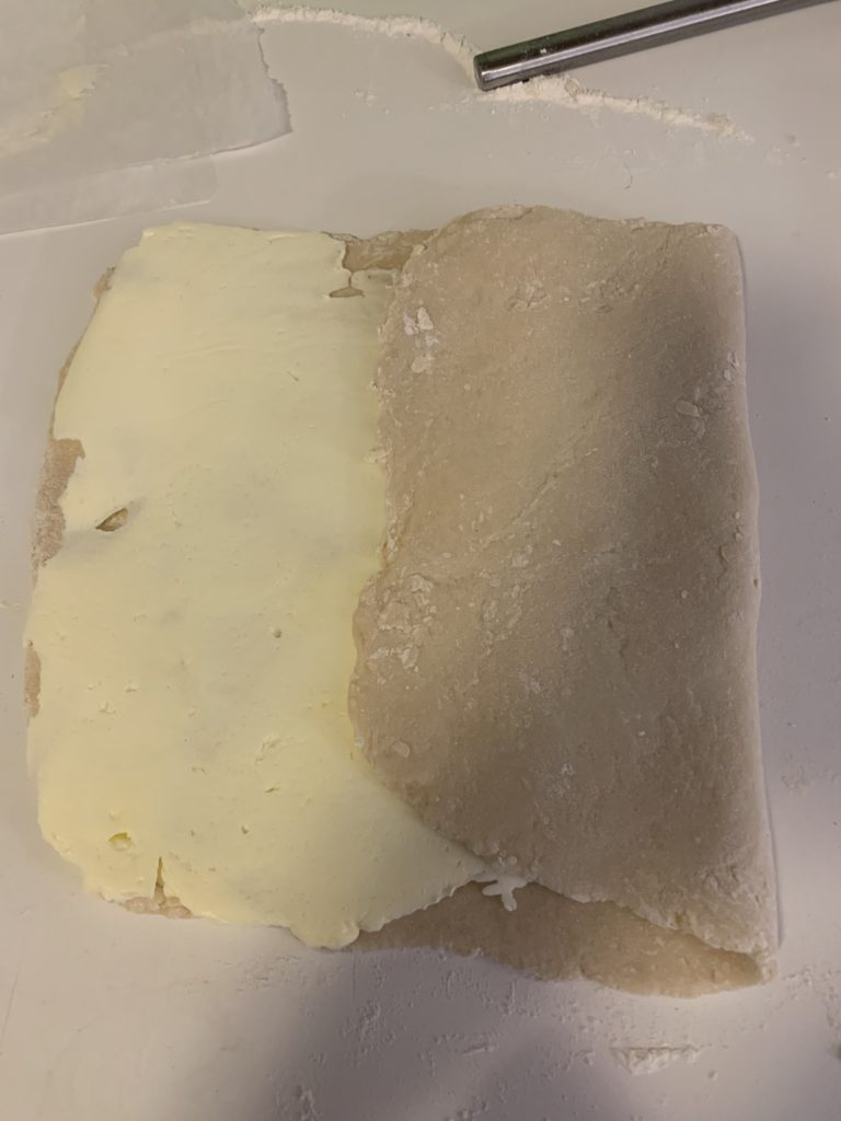 Dough with butter 2