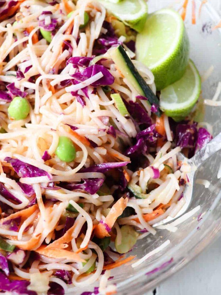 cold thai noodle salad featured 2