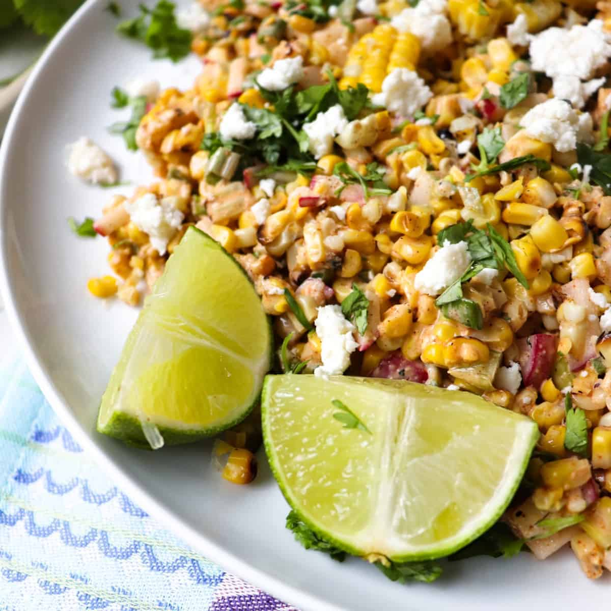 elotes mexican corn salad featured