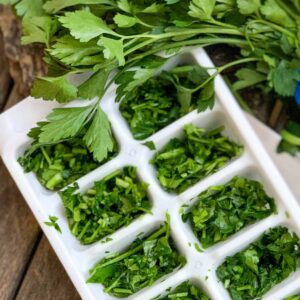 how to freeze fresh herbs featured