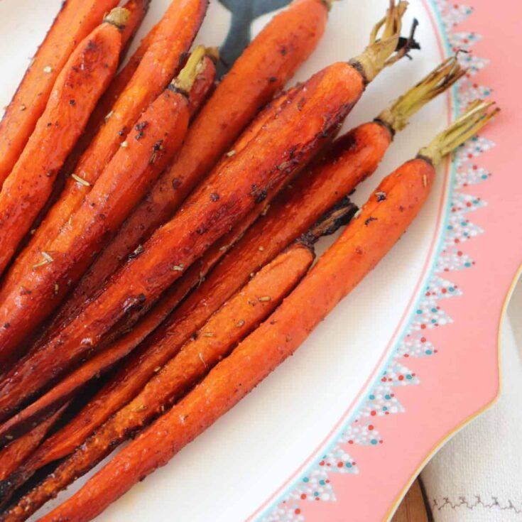 Honey Balsamic Carrots