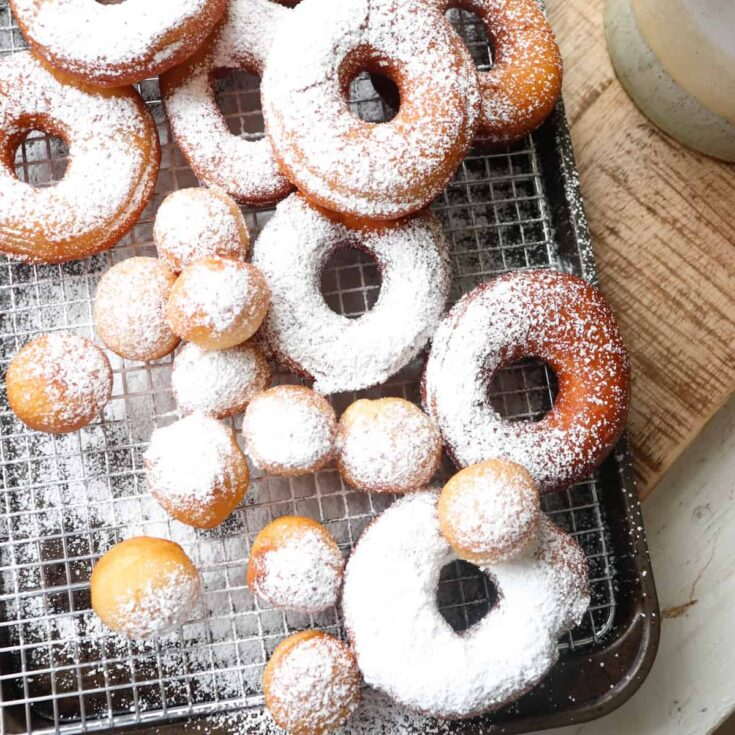 Sourdough Discard Donuts