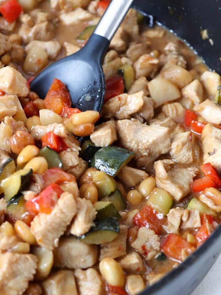 kung bao chicken featured