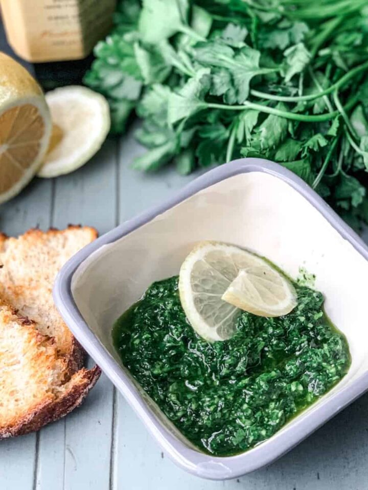 parsley pesto featured