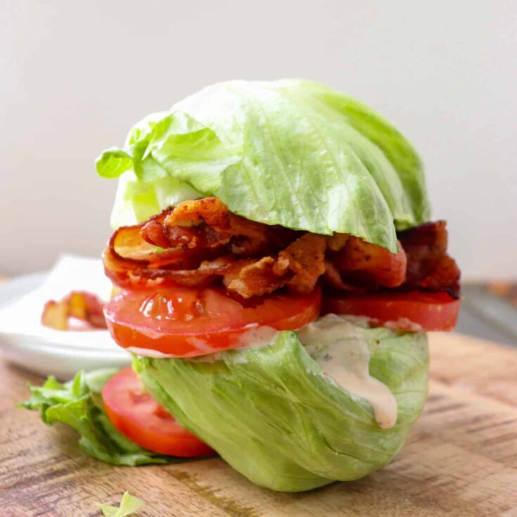 Low Carb BLT (Keto-Friendly and Gluten Free)