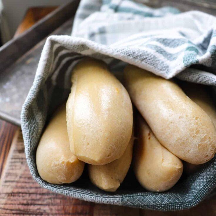 Garlic Butter Sourdough Breadsticks