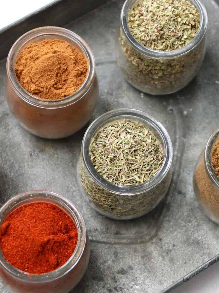 kitchen spices featured