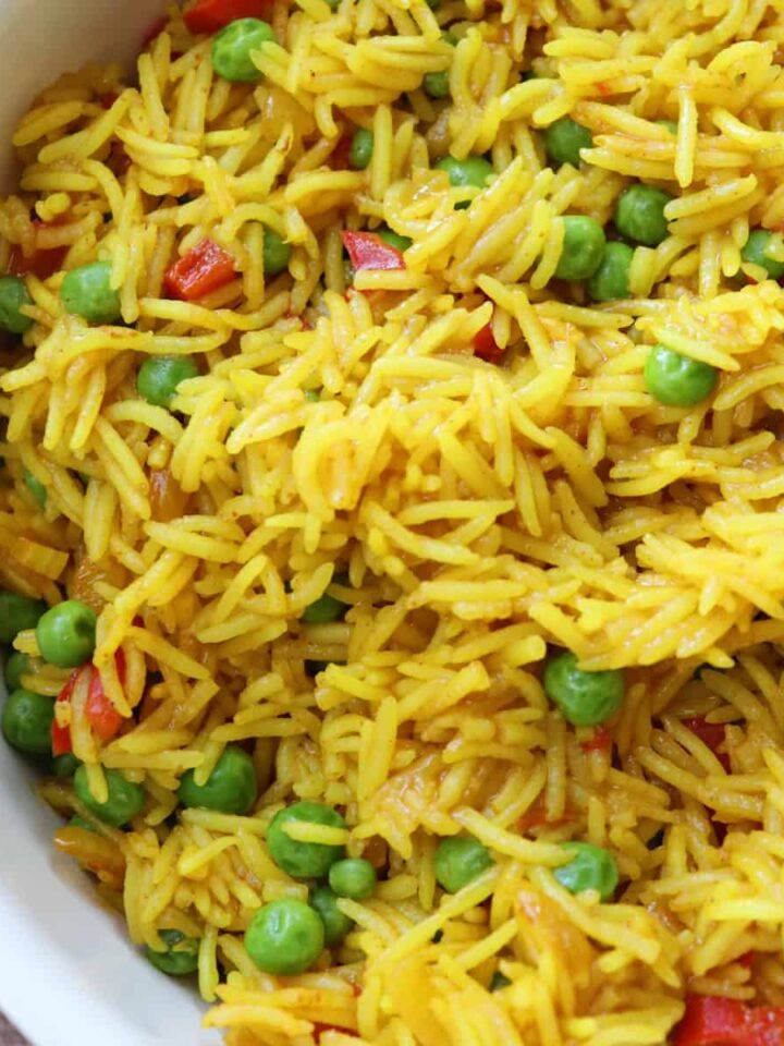 nandos spicy rice featured