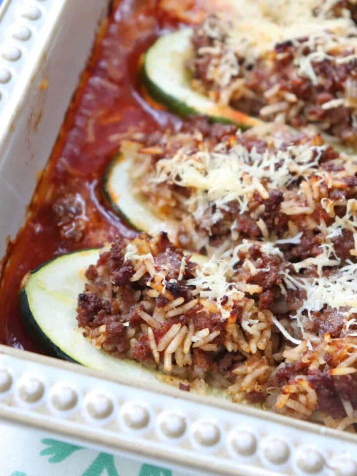 zucchini casserole featured